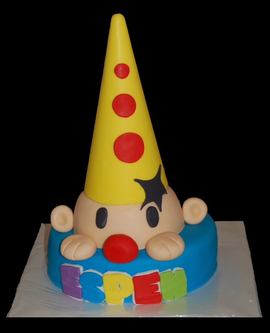 Bumba Clown Cake on Cake Central