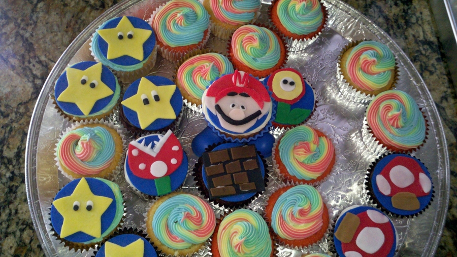 Mario Brothers on Cake Central