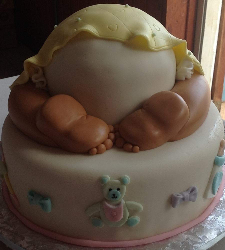 Baby Bum Cake on Cake Central
