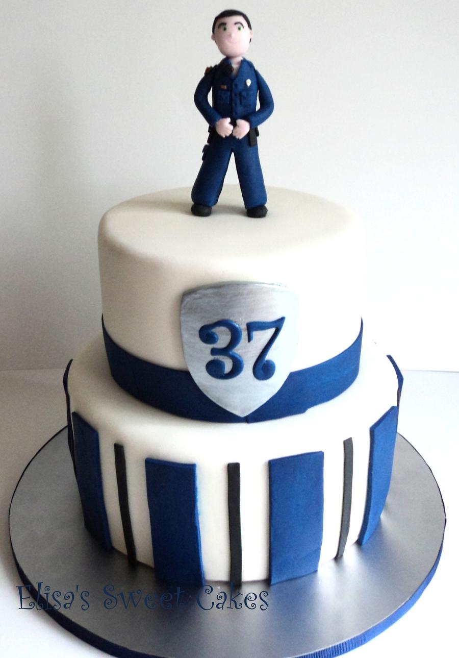 Super Policeman Cake Cakecentral Com Funny Birthday Cards Online Hendilapandamsfinfo