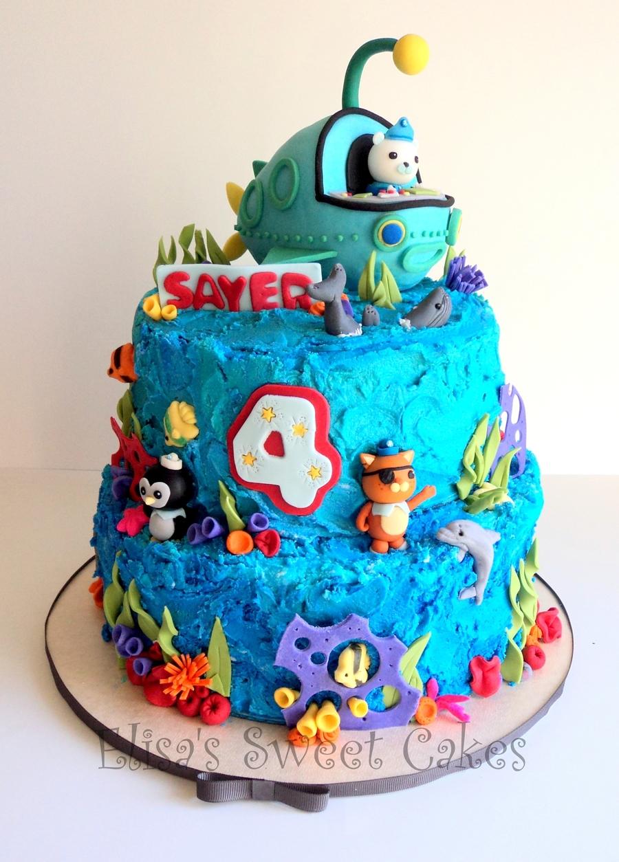 Octonauts Birthday Cake Recipe