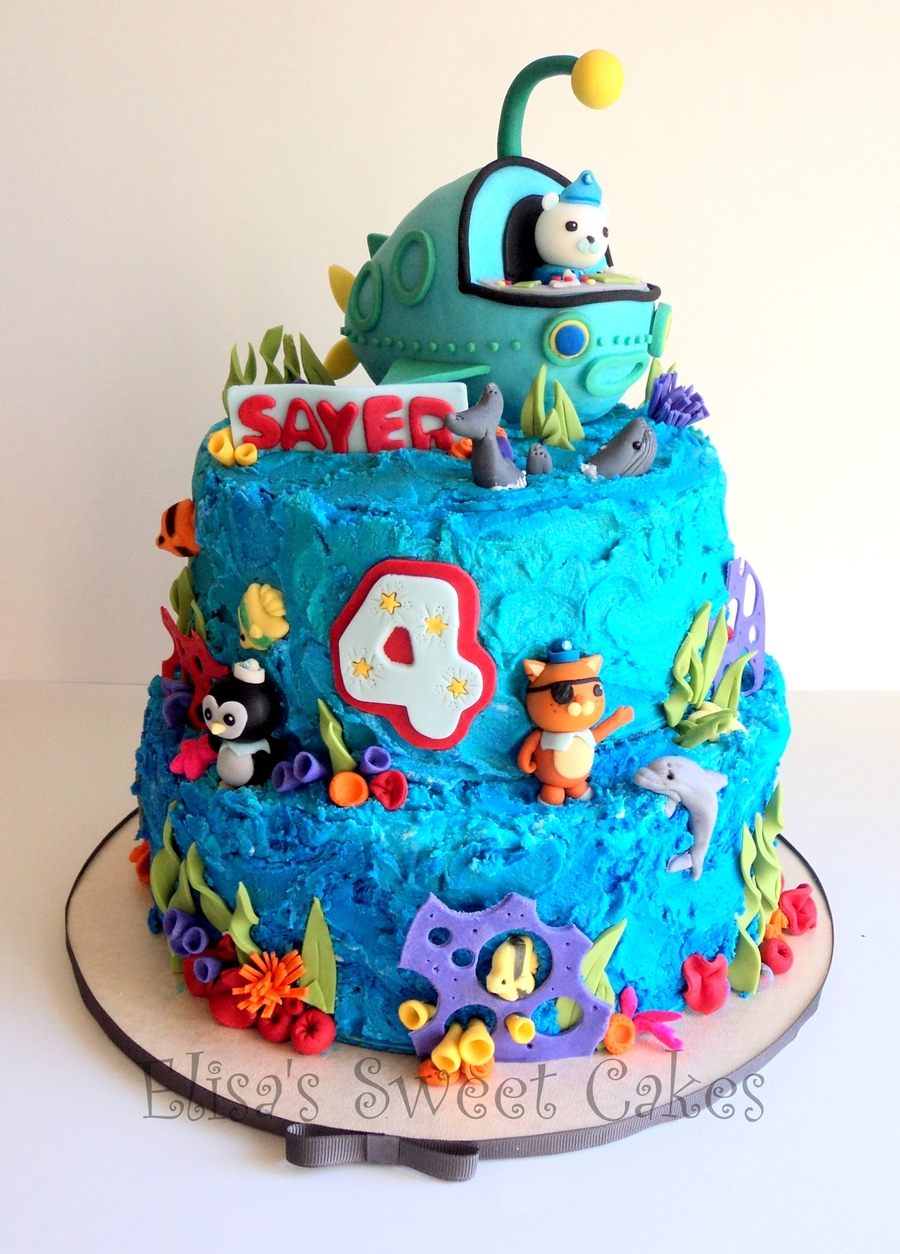 Octonauts Birthday Cake Ideas