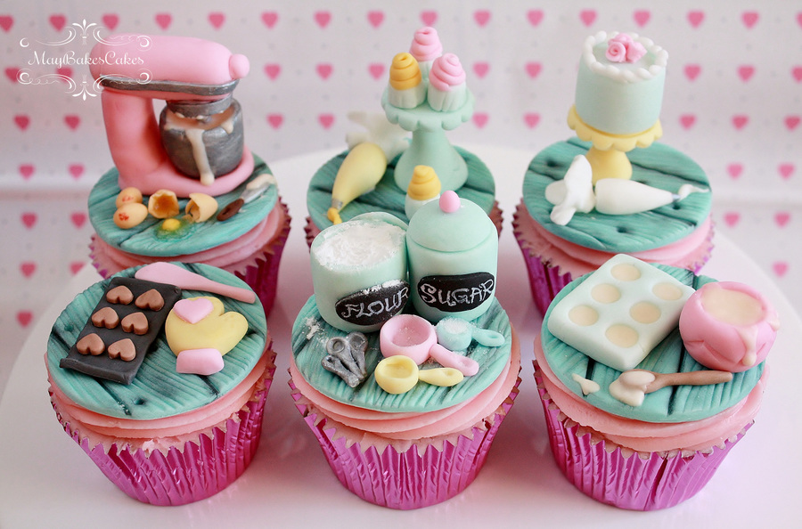 Baking Theme Cupcakes on Cake Central