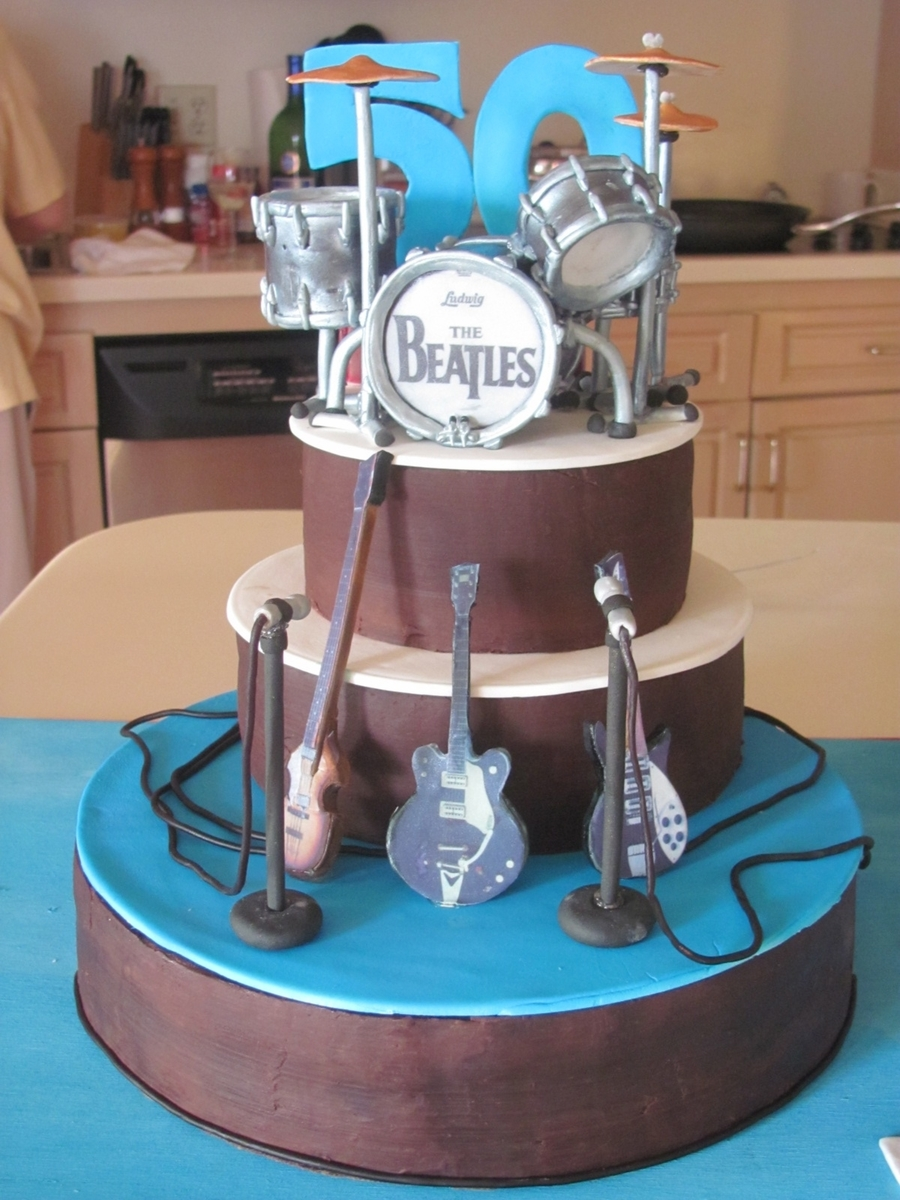 The Beatles 1964 on Cake Central