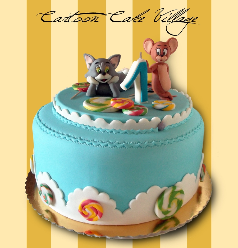 Tom And Jerry Cake Decorations