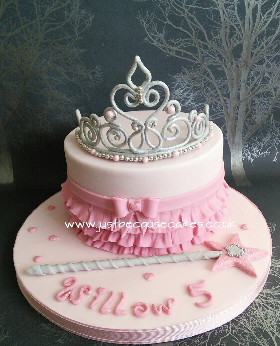 princess crown birthday cakes