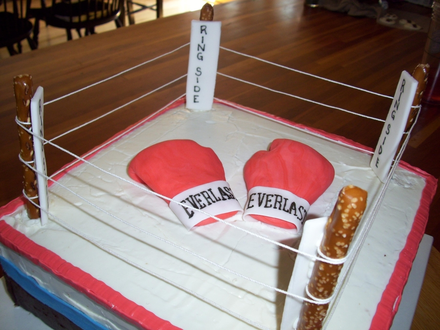 Boxing Ring on Cake Central