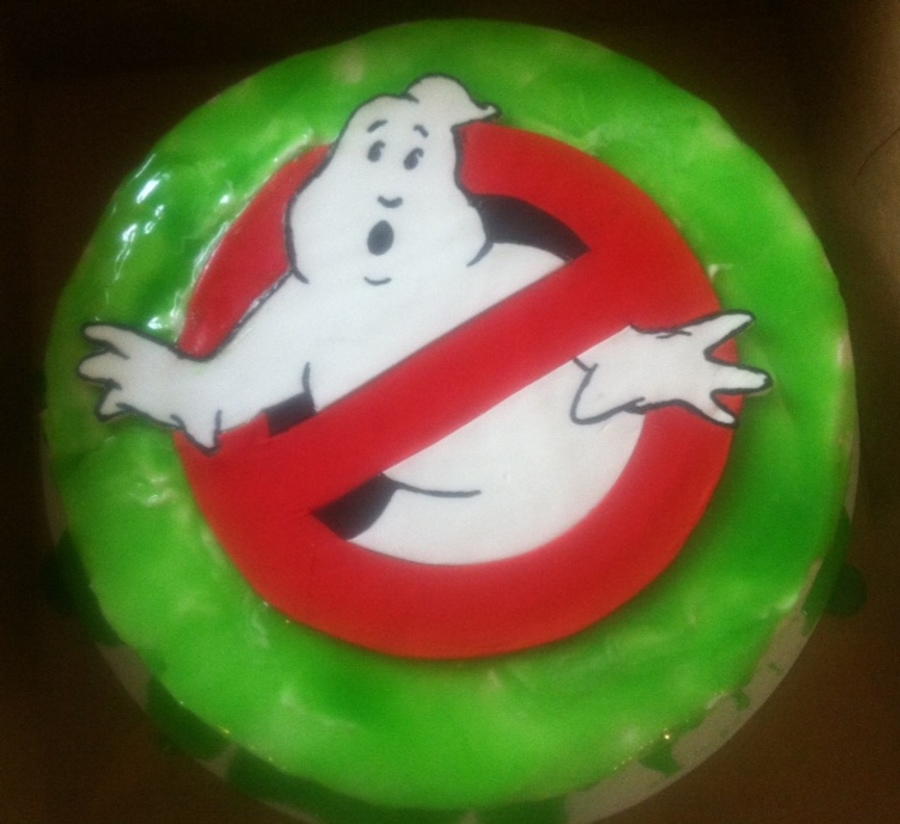 Ghostbustersjpg on Cake Central