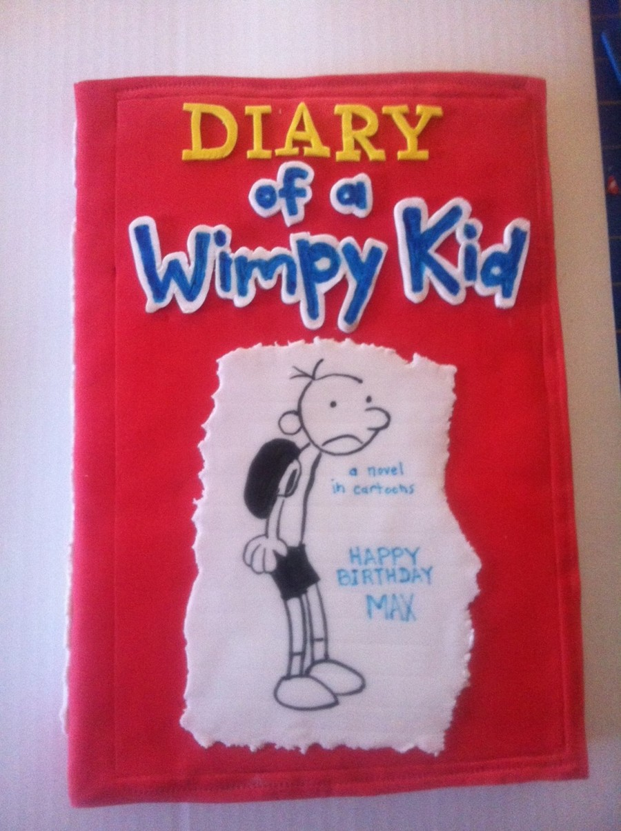 Diary Of A Wimpy Kid on Cake Central