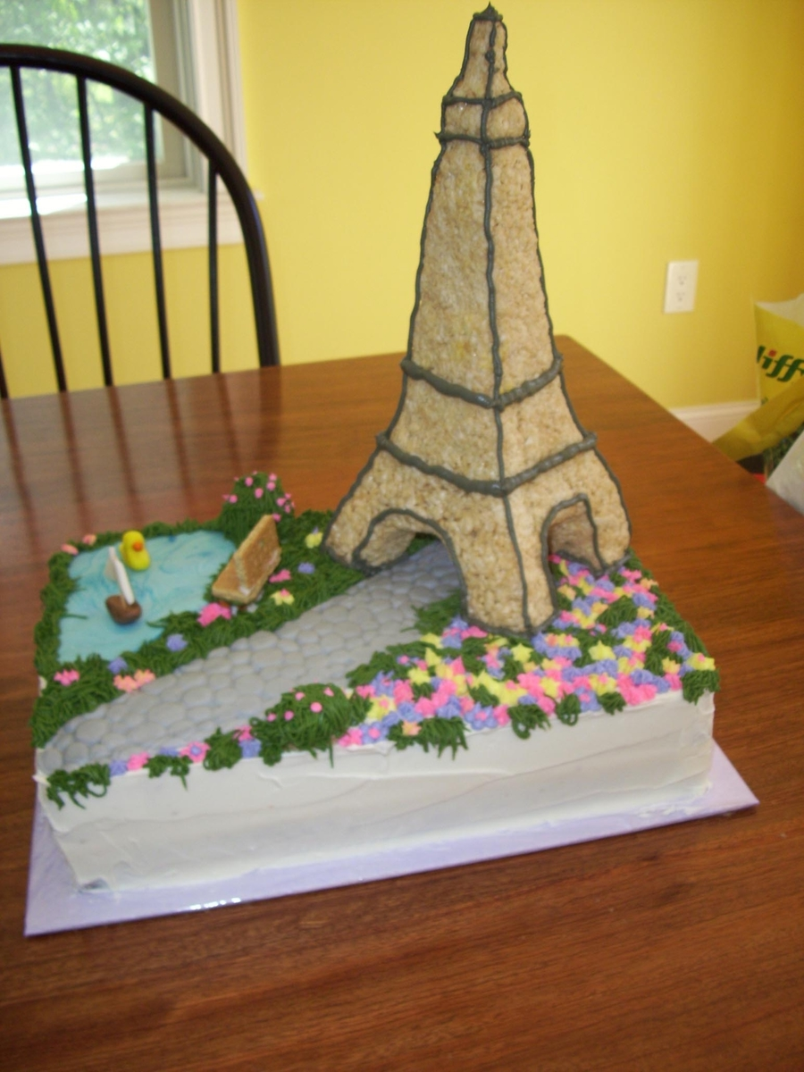 Paris Anyone? on Cake Central
