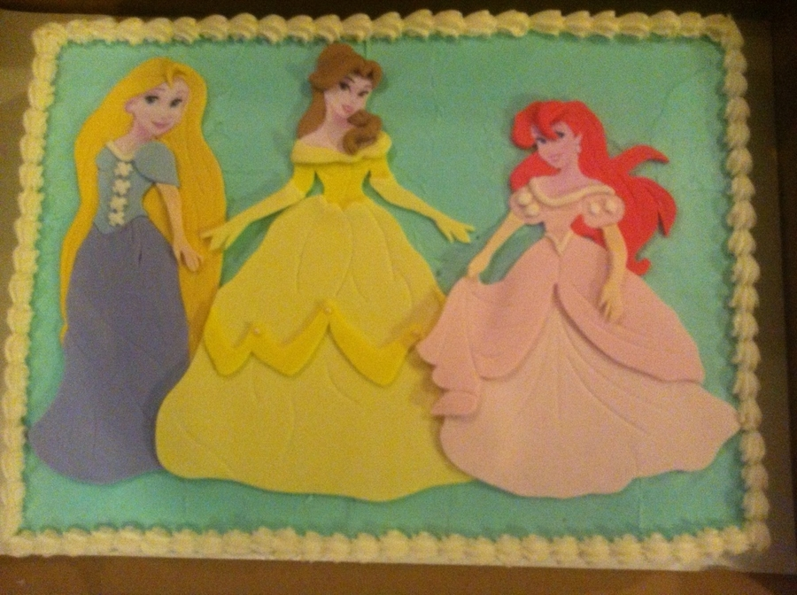 3 Princesses on Cake Central