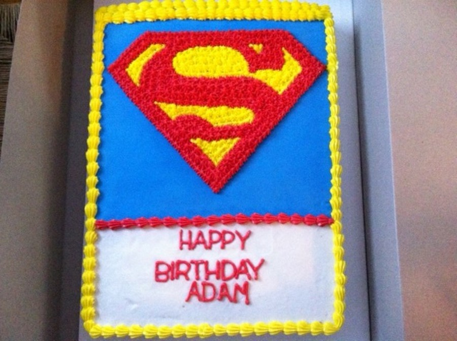 Supermanjpg  on Cake Central