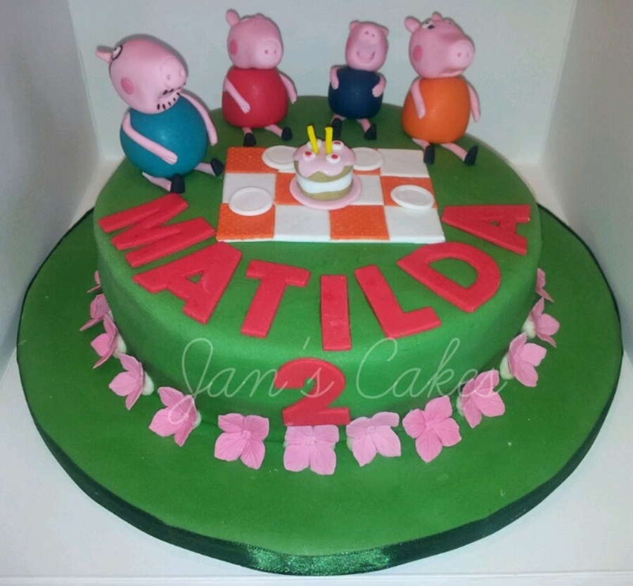 Peppa Pig 2Nd Birthday on Cake Central