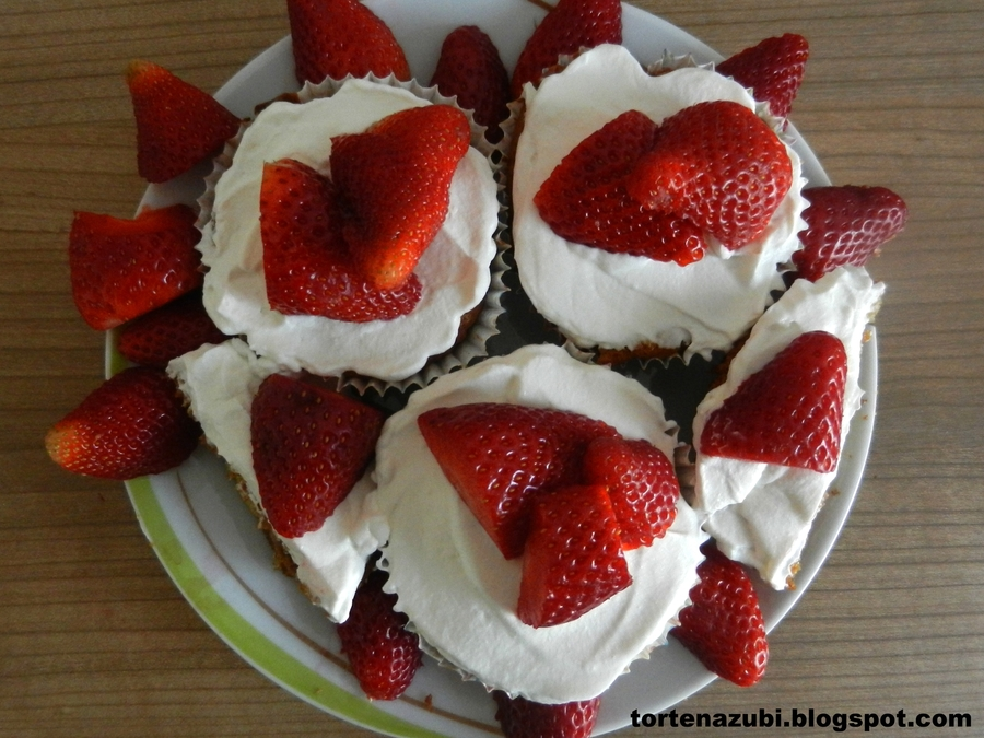 Strawberry Cupcakes on Cake Central