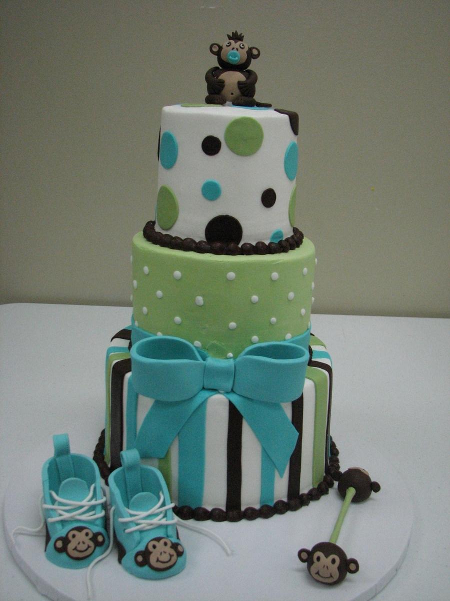 Monkey Baby Shower Cake Cakecentral Com