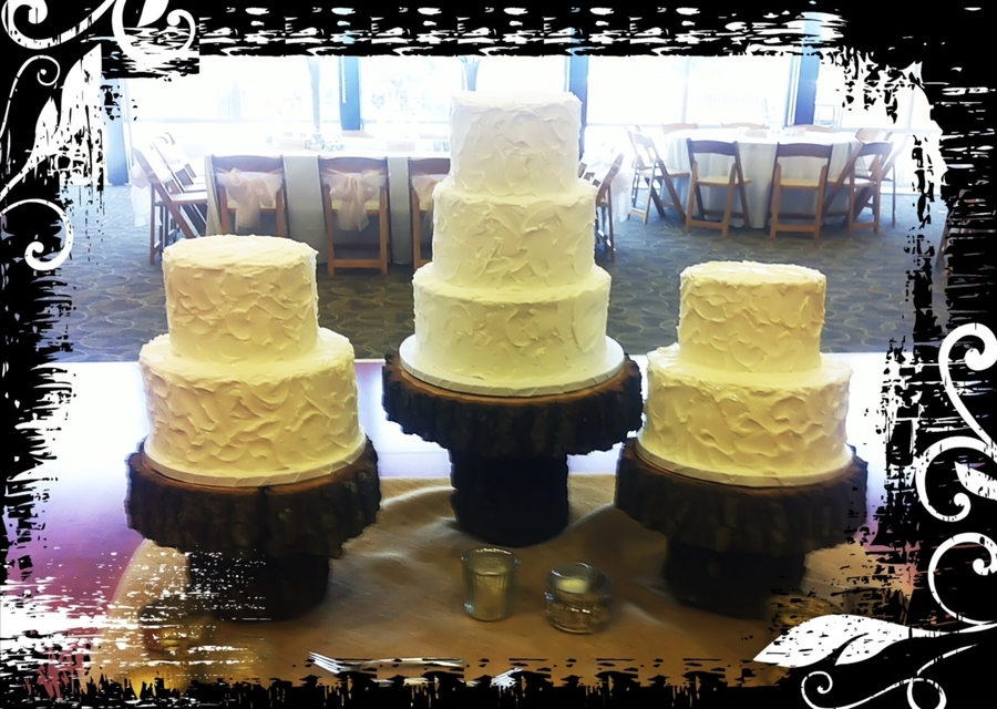 Rough Iced Wedding Cakes on Cake Central