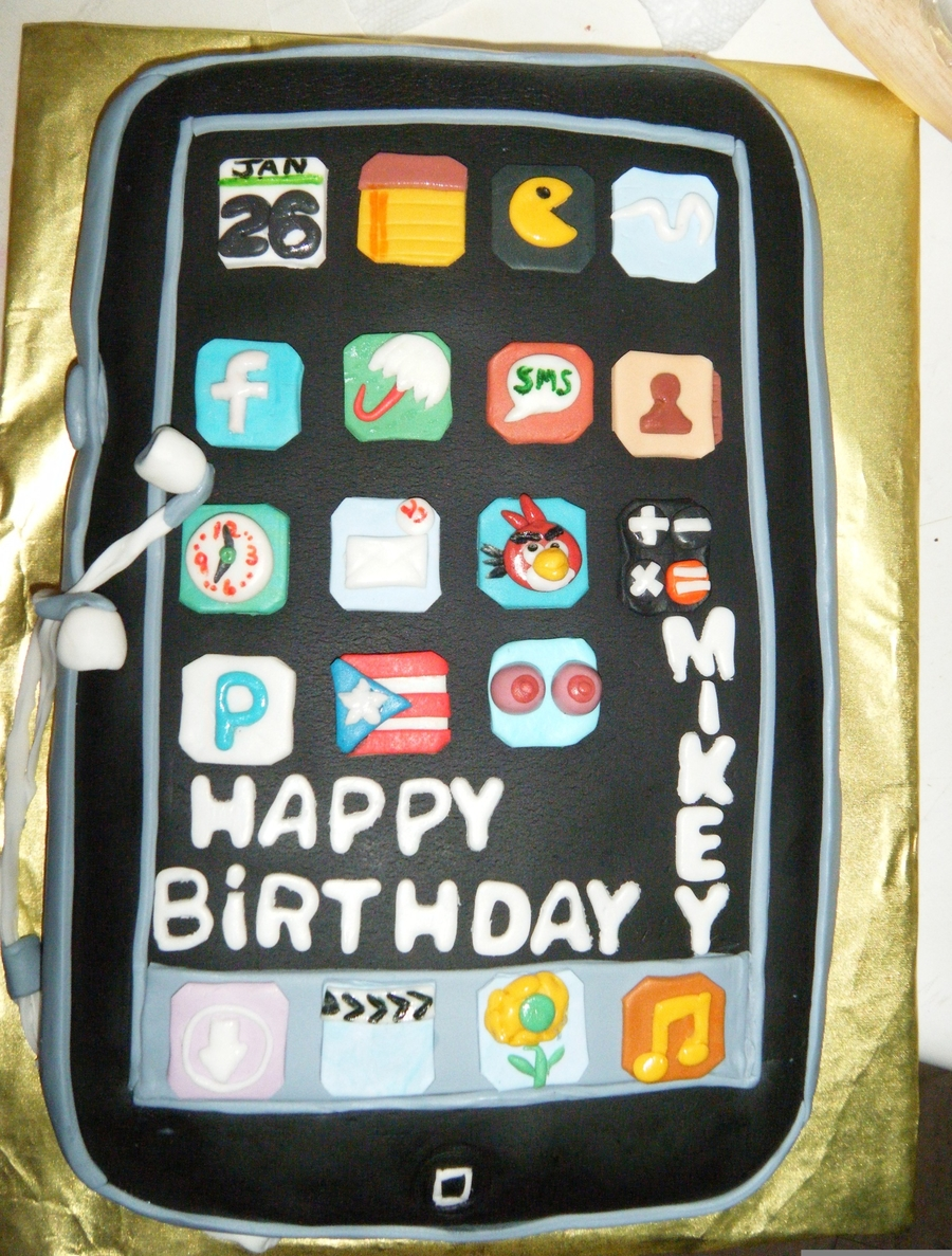 Birthday Cake For One Of A Special Someone In My Life (My Son) on Cake Central