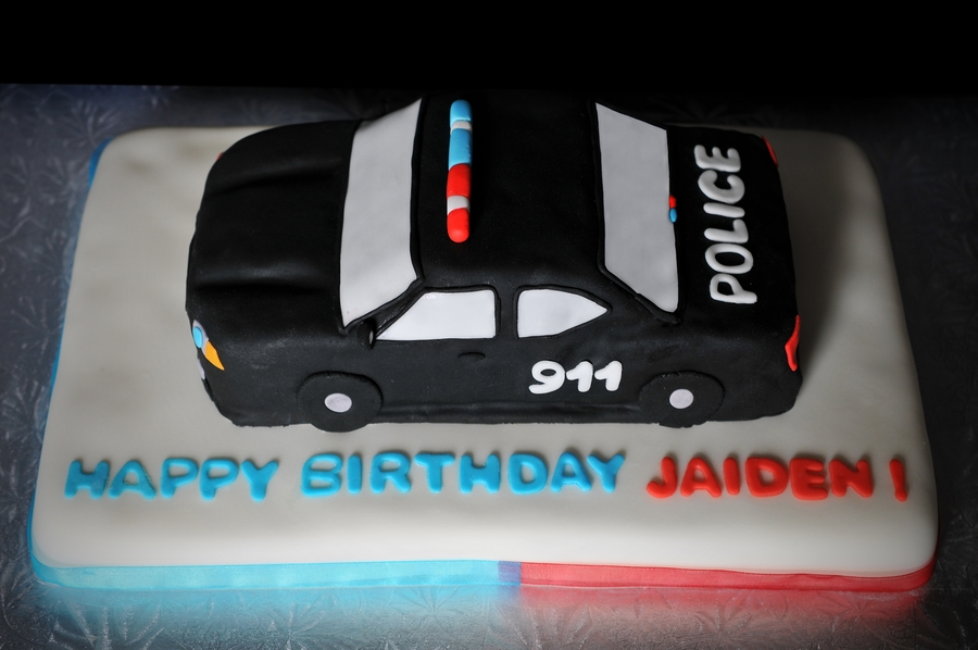 Police Car Cake Cakecentral