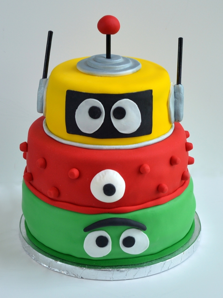 Yo Gabba Gabba Cake  on Cake Central