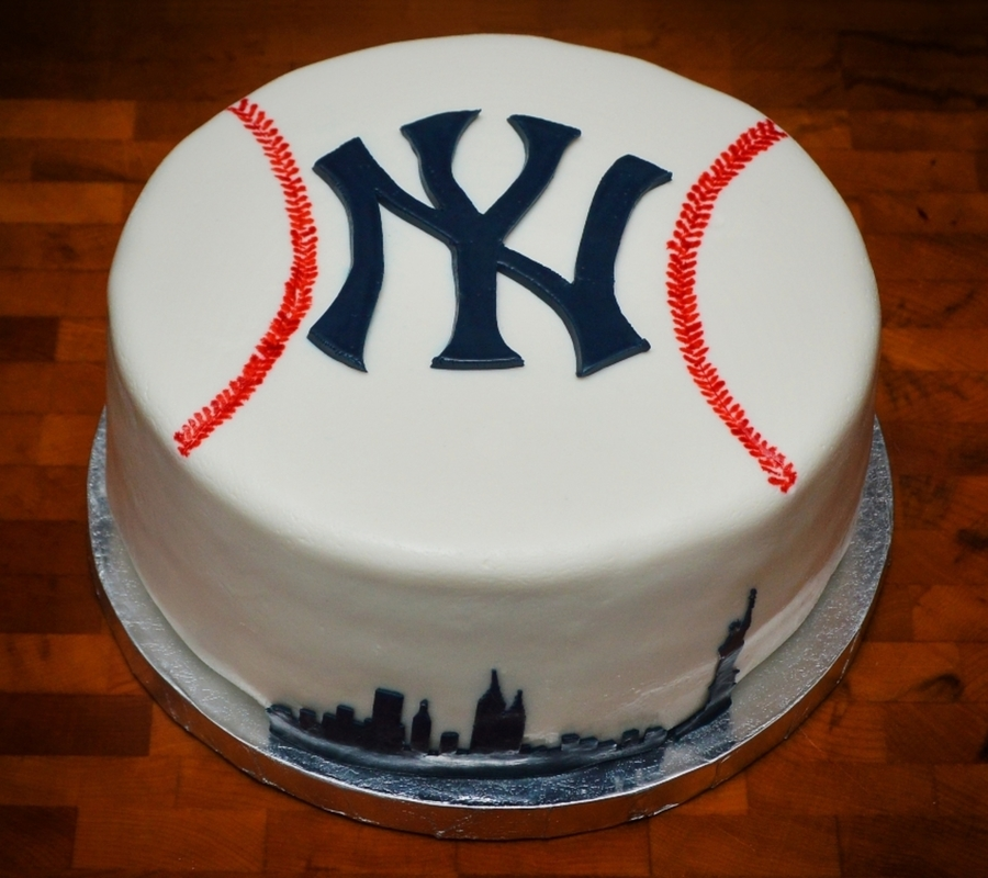 Yankees Birthday Cake Images