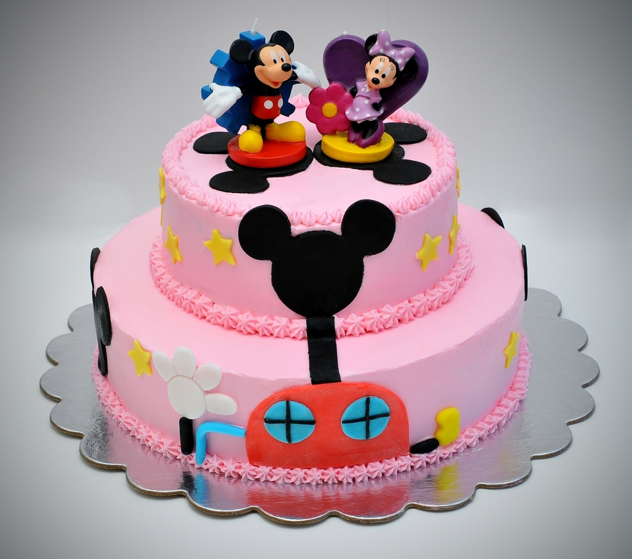 Remarkable Mickey Mouse Clubhouse Birthday Cake Cakecentral Com Personalised Birthday Cards Veneteletsinfo