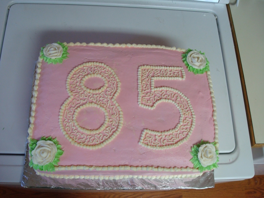 85th Birthday Cake Cakecentral