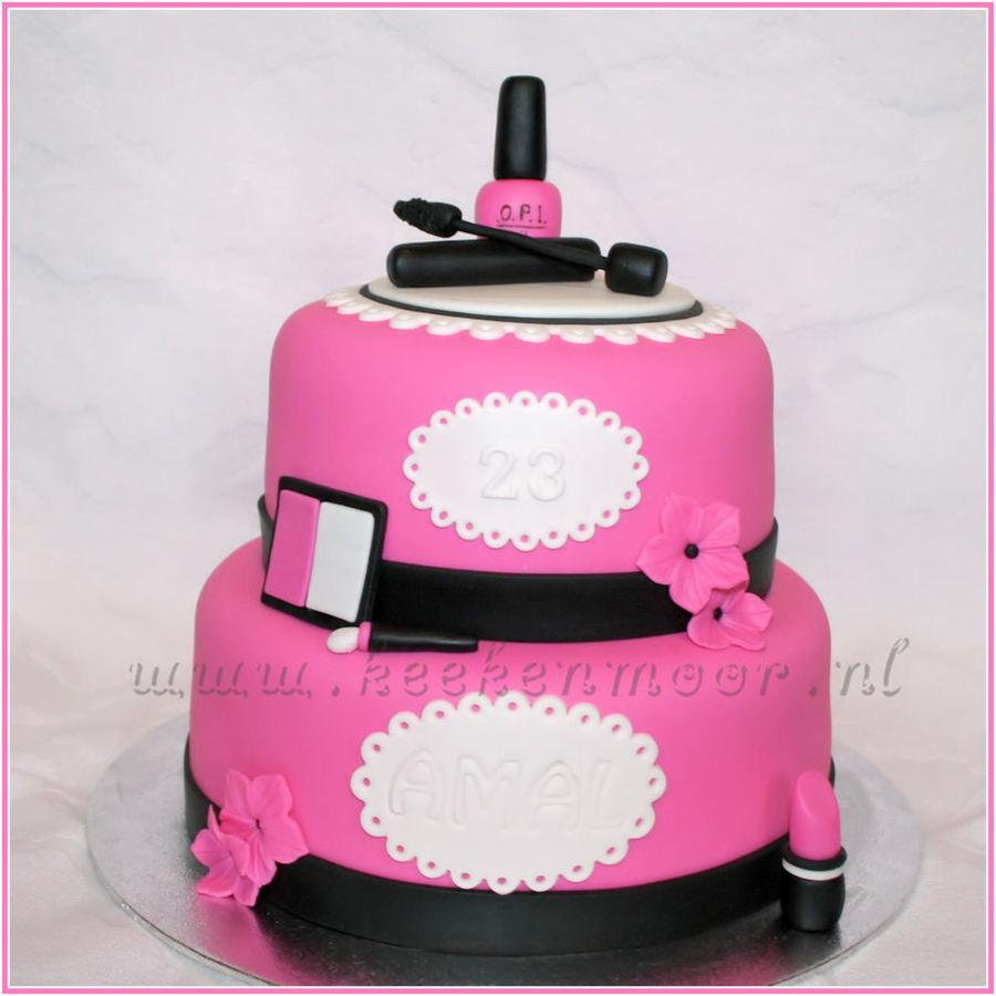 Nail Polish Cake Tutorial