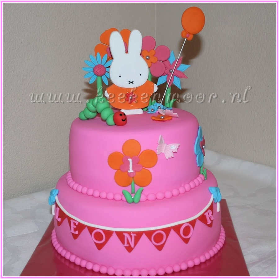 Nijntje! / Miffy! on Cake Central