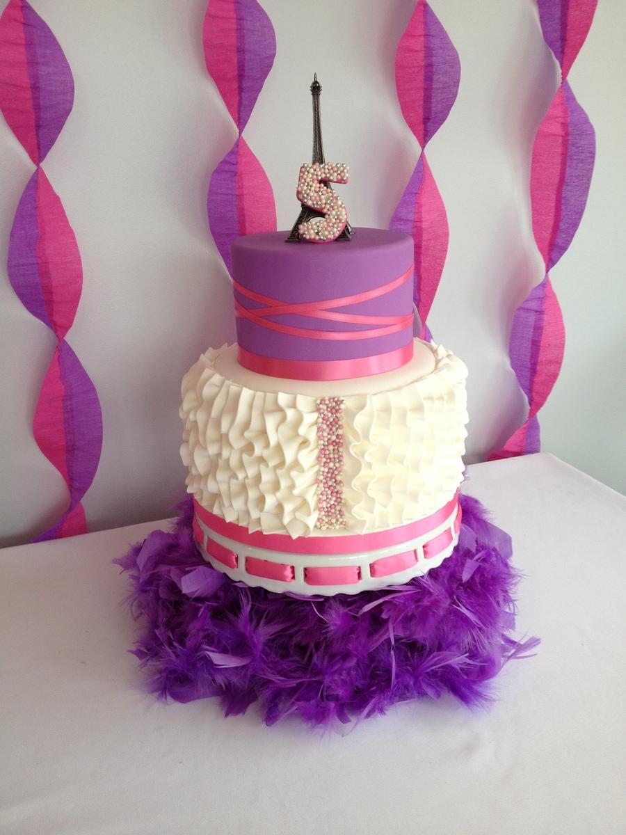 Fancy Nancy Cake - CakeCentral.com