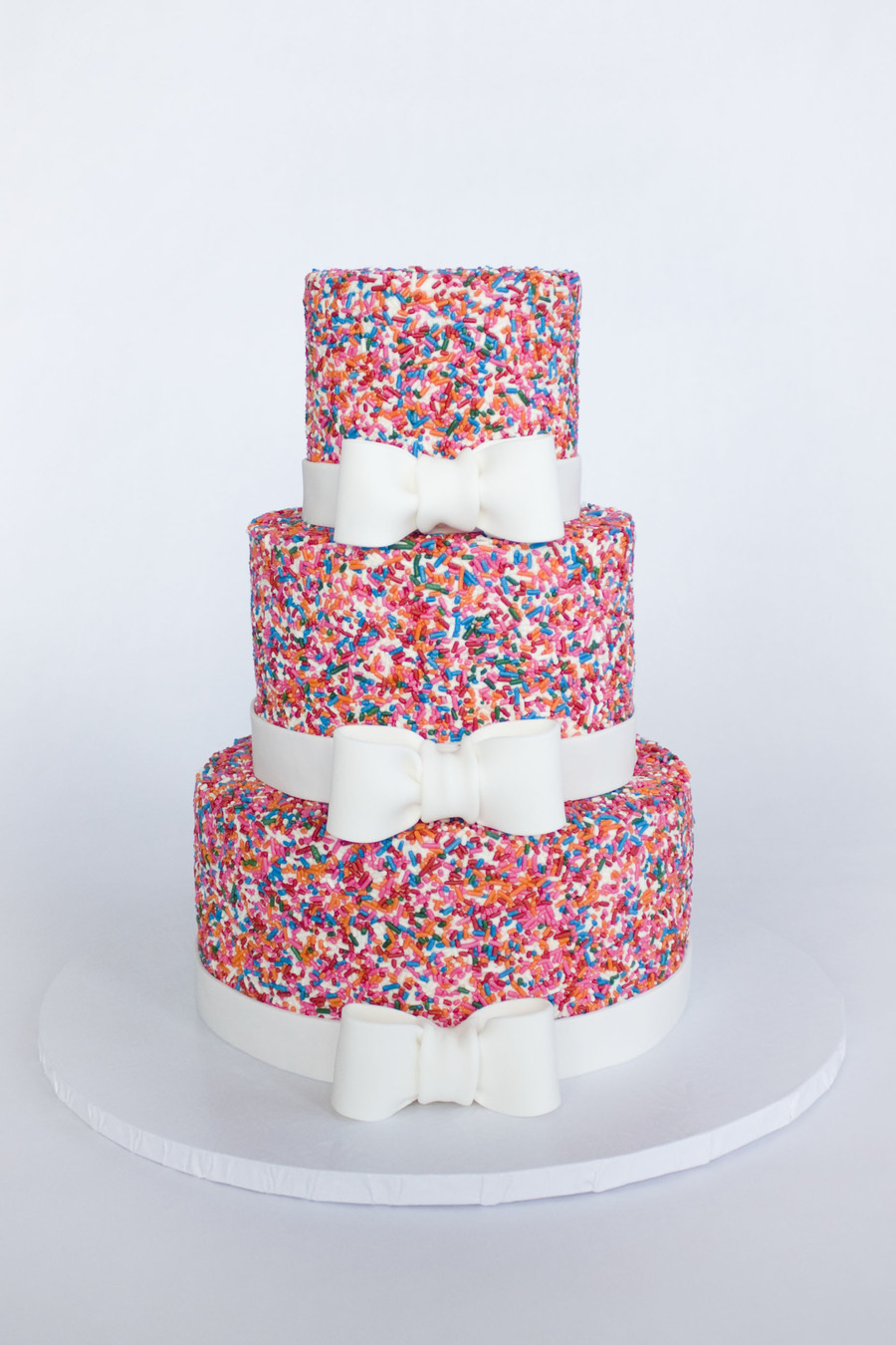 Girly Sprinkle Cake on Cake Central