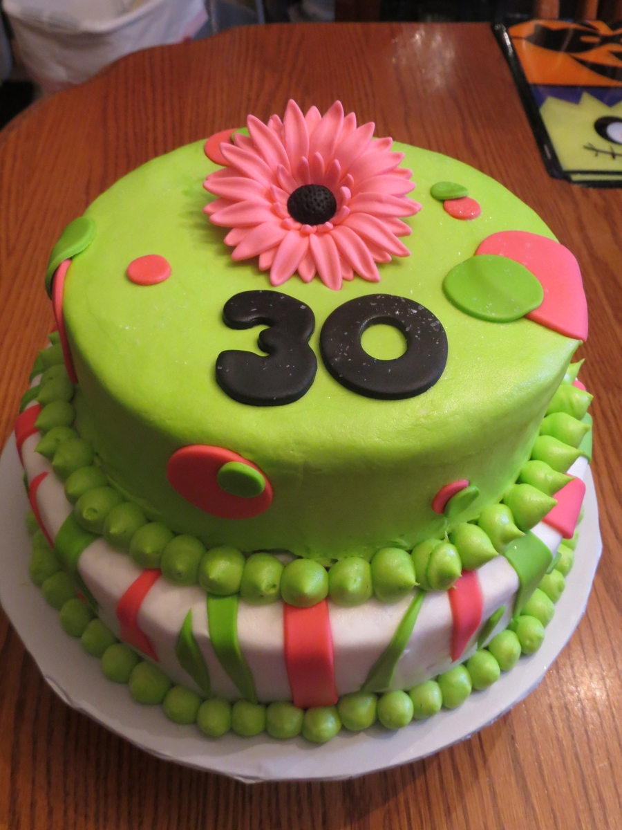 30Th Birthday on Cake Central