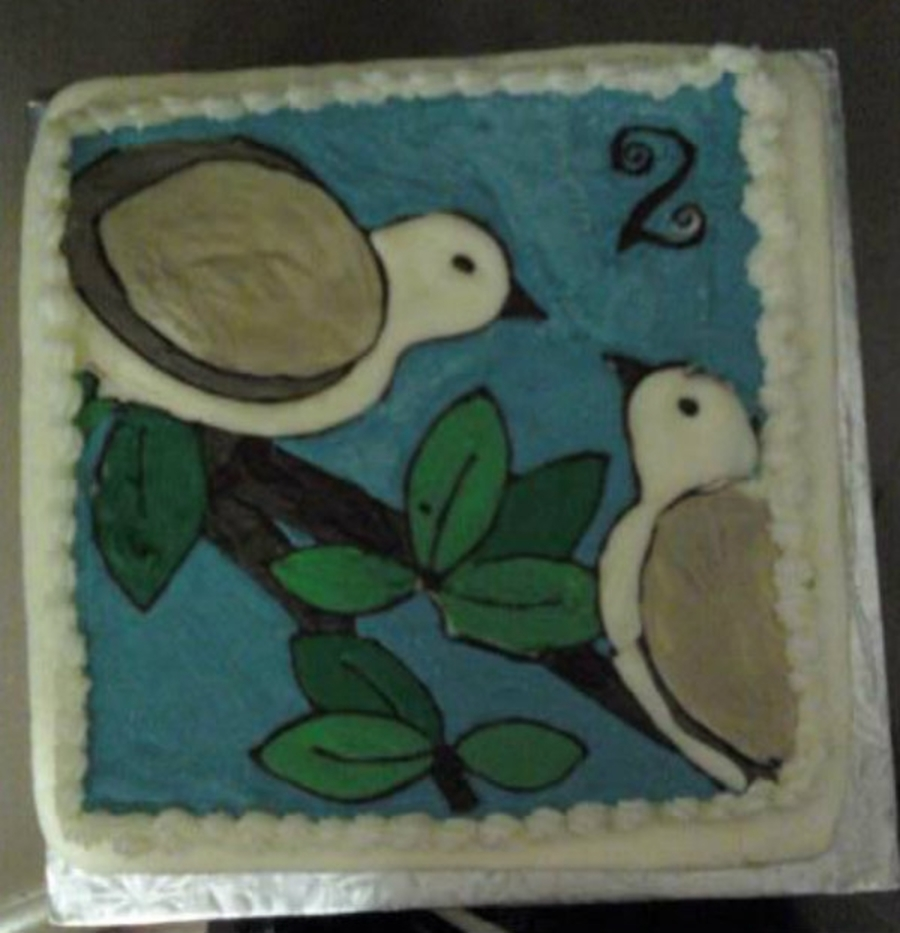 Two Turtle Doves on Cake Central