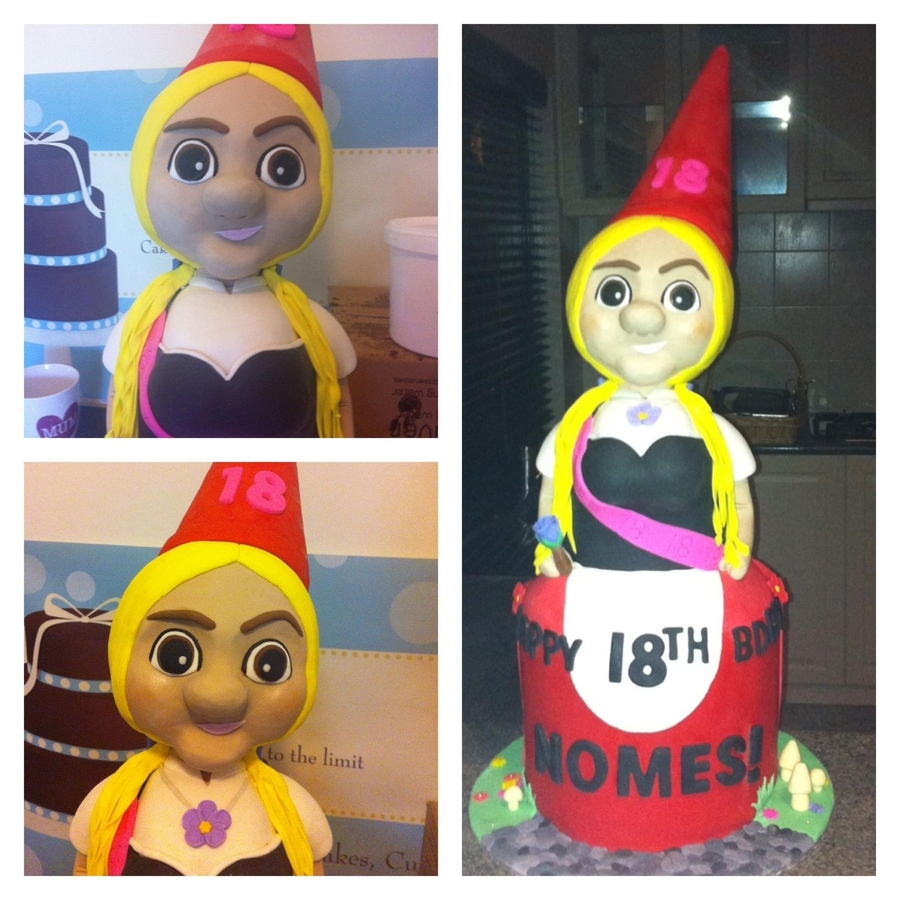 Gnome Cake on Cake Central