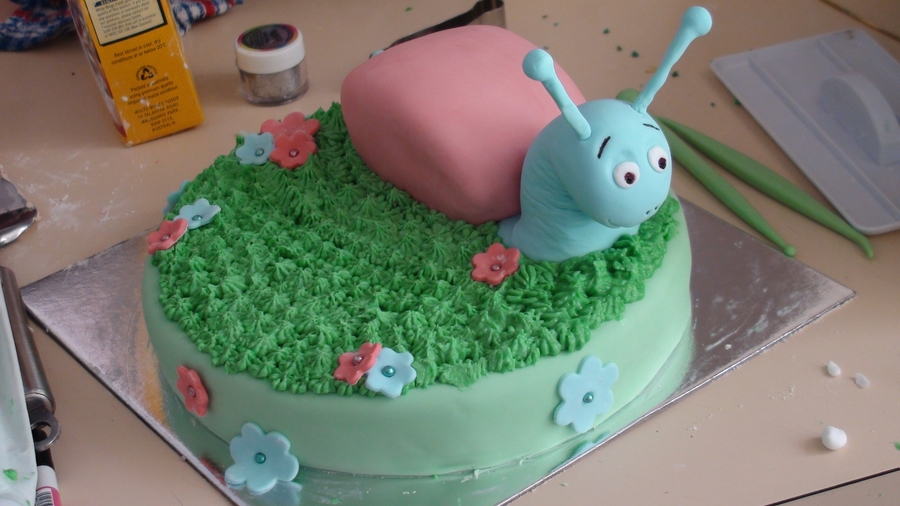 Snail Birthday Cake Cakecentral