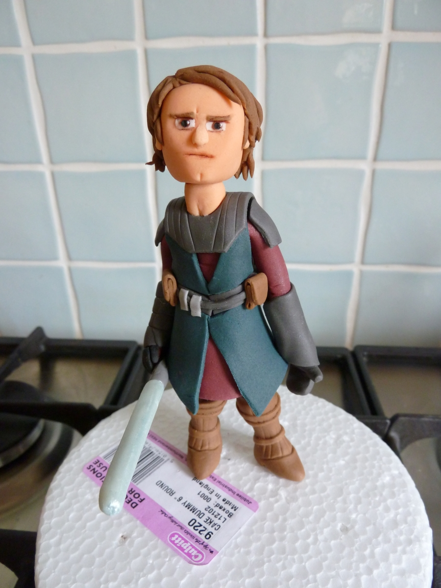 Anakin Cake Topper on Cake Central