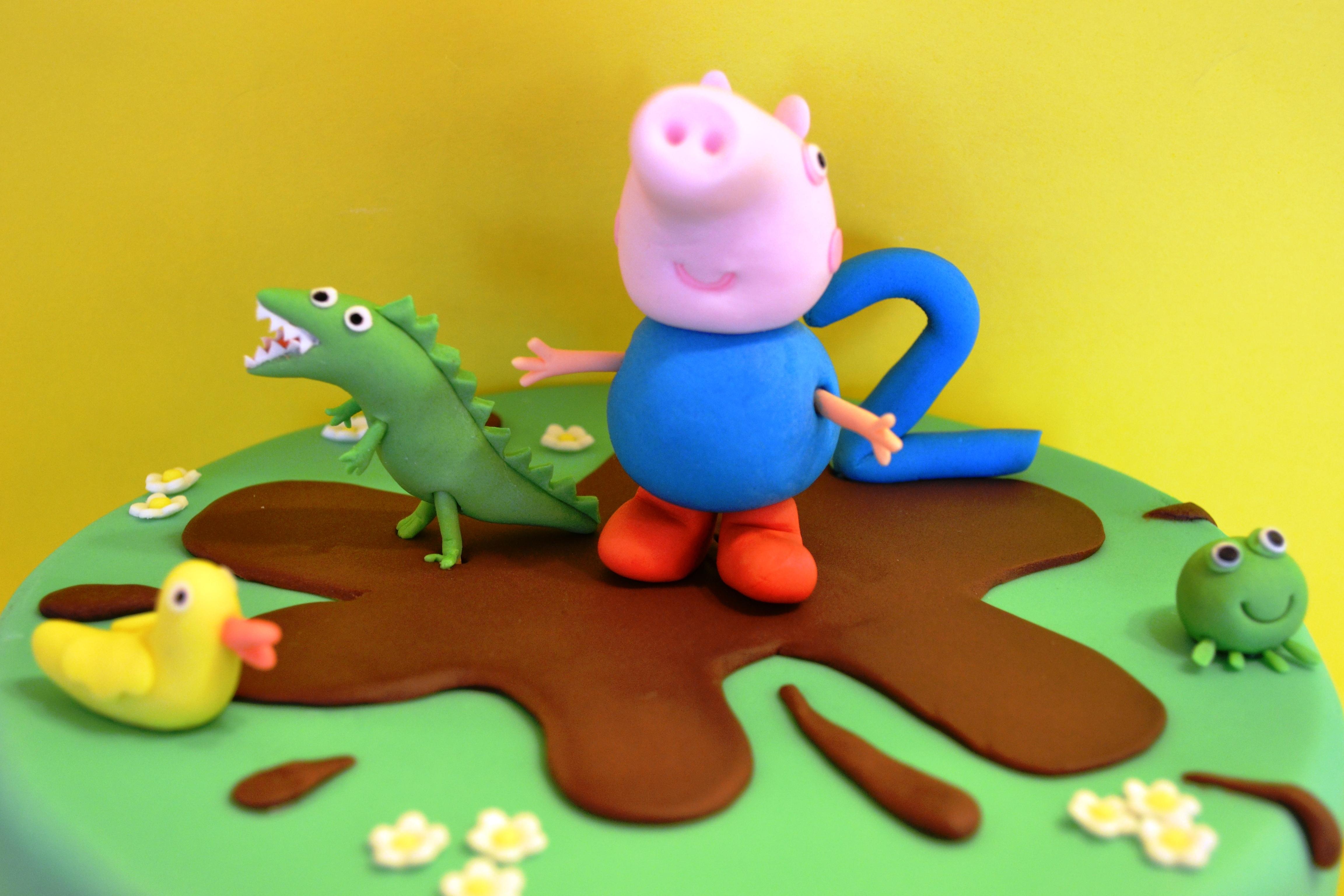 George Pig Cake Peppa Pig Cakecentral