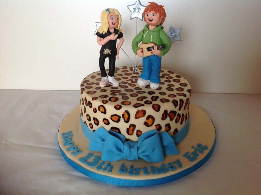 13Th Birthday Cake Ed Sheeran on Cake Central