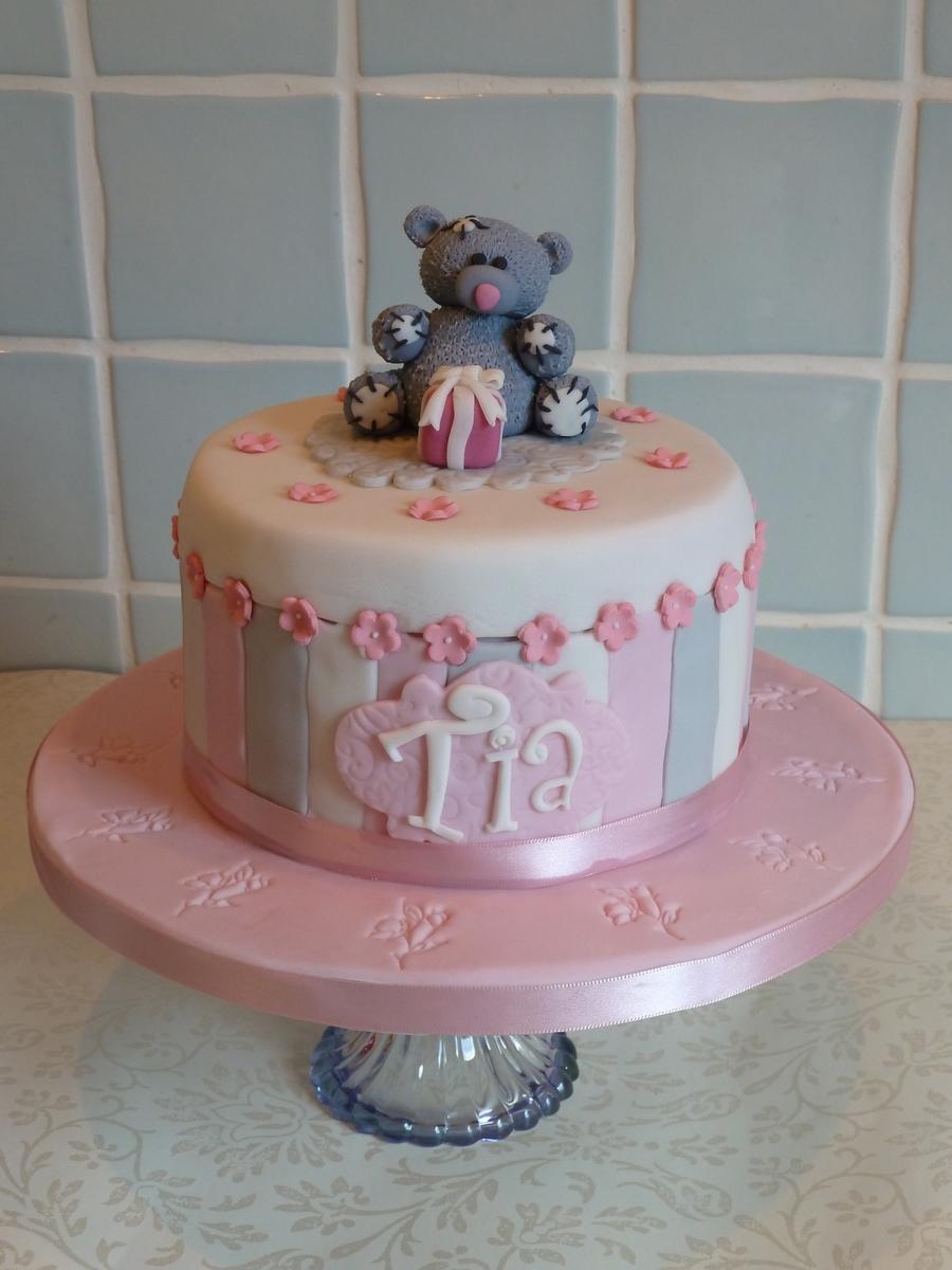 Incredible Tatty Teddy Birthday Cake Cakecentral Com Funny Birthday Cards Online Drosicarndamsfinfo