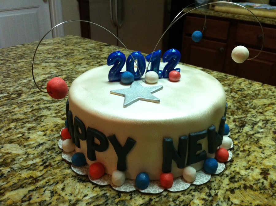 New Year 2012 on Cake Central
