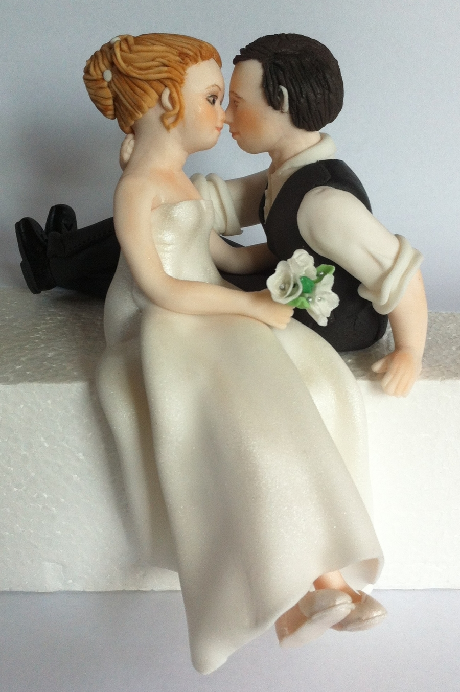 Bride And Groom Cake Topper on Cake Central