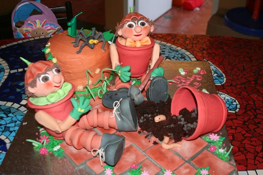 Bill And Ben The Flowerpot Men On Cake Central