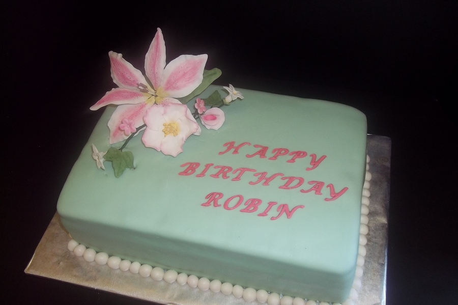 Birthday Cake For Sister In Law Cakecentral Com
