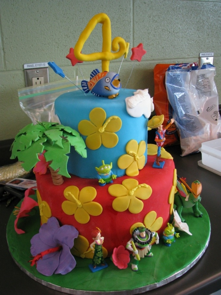 Toy Story Hawaiian Vacation on Cake Central