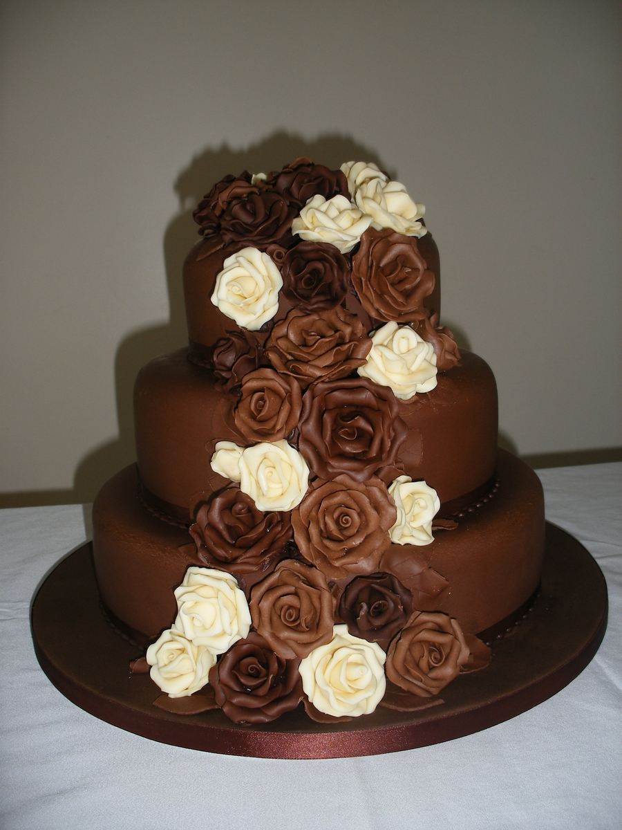 Chocolate Roses on Cake Central