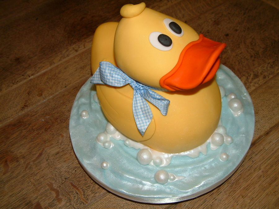 Yellow Duck on Cake Central