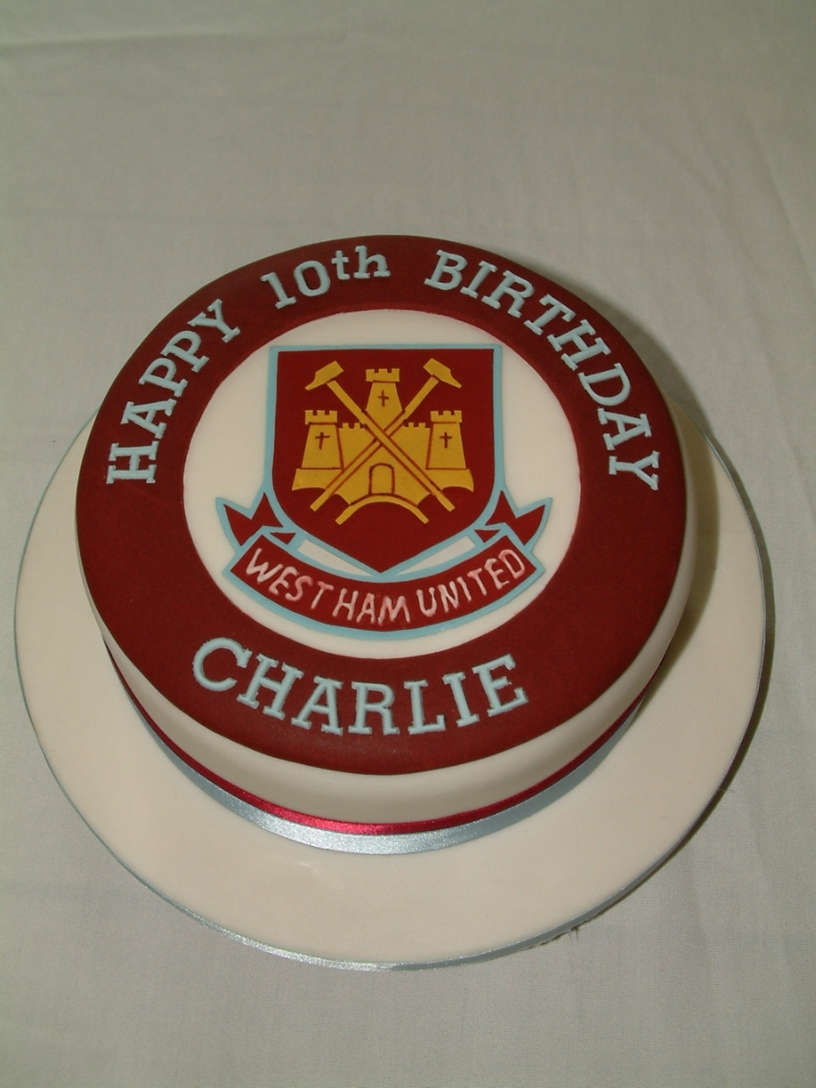 West Ham United on Cake Central