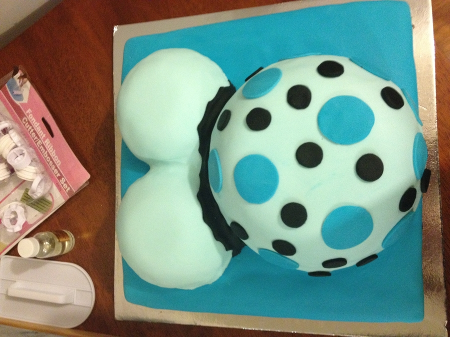 Pregnant Belly Cake on Cake Central