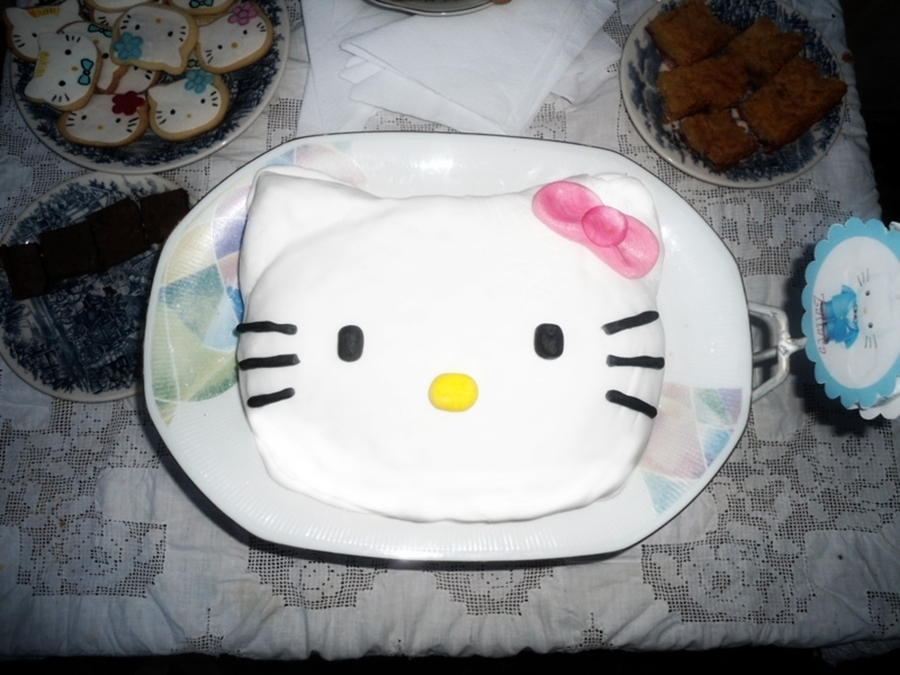 Kitty Cake on Cake Central