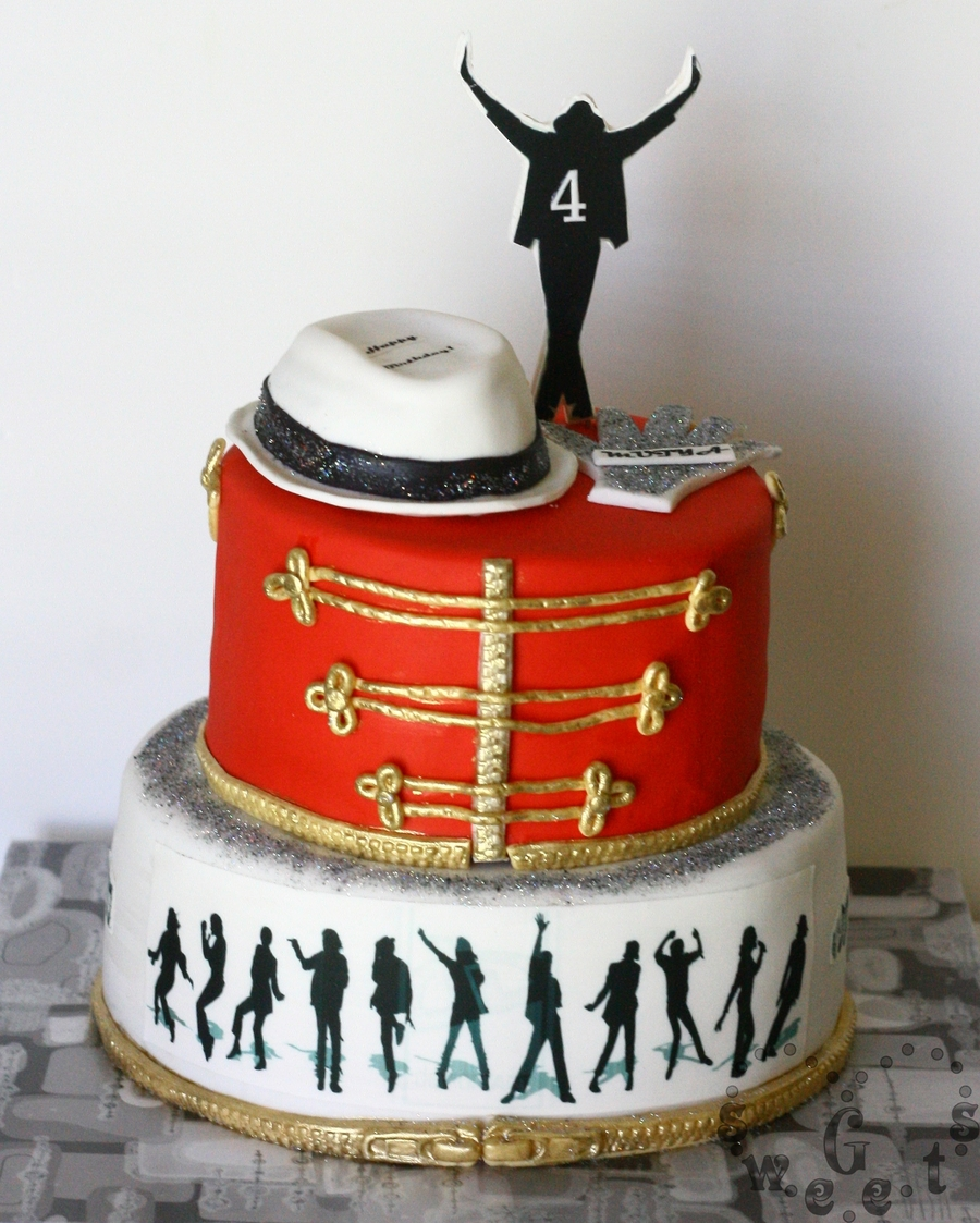Birthday Cake Images Michael : Michael Jackson Cake - CakeCentral.com