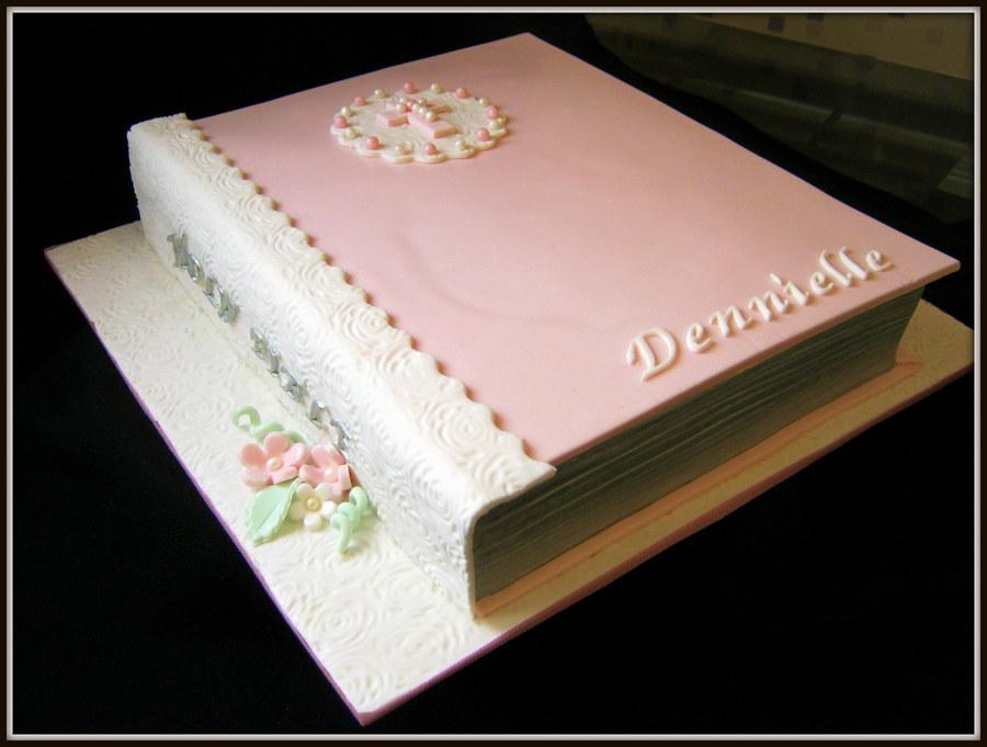 Bible Cake Cakecentral Com